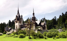 Peles Castle, Sinaia Royalty Free Stock Photos