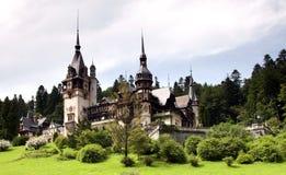 Peles Castle, Sinaia. The former kingdom residence in Romania Royalty Free Stock Photos