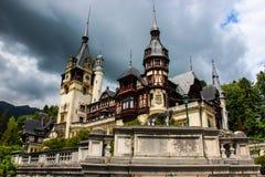 Peles Castle in Sinaia Royalty Free Stock Photo