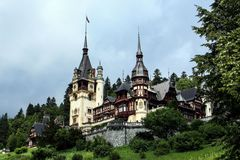 Peles Castle, Sinaia Royalty Free Stock Images