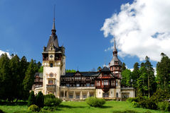 Peles Castle in Sinaia, Romania Stock Photography