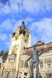Peles Castle, Sinaia-Romania Royalty Free Stock Photos