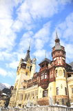 Peles Castle, Sinaia-Romania Royalty Free Stock Image
