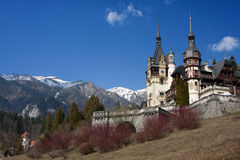 Peles Castle Sinaia, Romania Royalty Free Stock Images