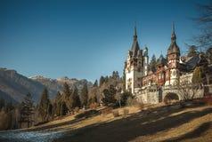 Peles Castle from Sinaia,Romania