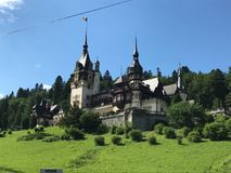 Peles Castle, Sinaia, Romania - beauty Stock Photography