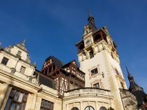Peles Castle Sinaia Romania Royalty Free Stock Photos