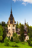 Peles Castle in Sinaia, Romania Royalty Free Stock Photo