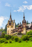 Peles castle, Sinaia, Romania Royalty Free Stock Photos