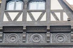 The Peles Castle from Sinaia Romania, exterior detail. Royalty Free Stock Photo