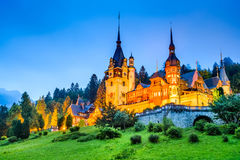 Peles Castle, Sinaia, Romania Royalty Free Stock Image