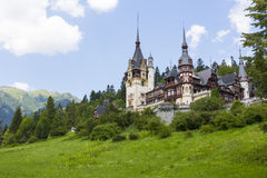 Peles castle, Sinaia, Romania royalty free stock image