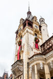 Peles Castle from Sinaia, Romania Stock Images