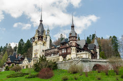 Peles Castle Stock Image