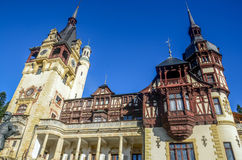 The Peles Castle Royalty Free Stock Photography