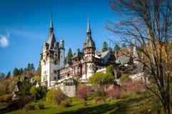 Peles castle in Sinaia, Romania Stock Image