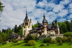 Peles Castle. Sinaia, Romania, Transylvania Royalty Free Stock Image