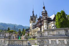 Peles castle, Sinaia, Romania Royalty Free Stock Images