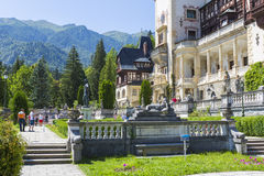 Peles castle, Sinaia, Romania Stock Photography