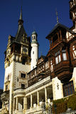Peles Castle Tower Royalty Free Stock Images
