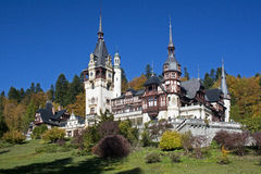 Peles castle tower, Romania Stock Photography