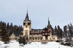 The Peles Castle Royalty Free Stock Photo