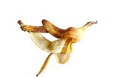 Peles de banana Imagem de Stock Royalty Free