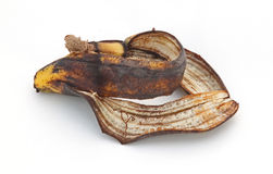 Peles de Bannana Fotografia de Stock Royalty Free