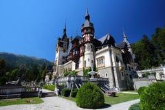 Peles kasztel, Rumunia Obrazy Royalty Free