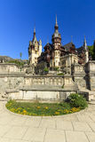 Peles museum,Sinaia,Transylvania,Romania. Peles palace in Sinaia,Romania Royalty Free Stock Photography