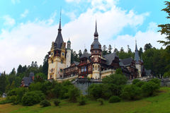 Peles Palace, Romania Royalty Free Stock Photography