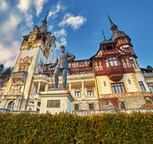 Peles Palace in Romania Royalty Free Stock Photo