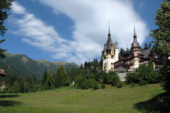 Peles Palace, Sinaia, Romania Royalty Free Stock Photography