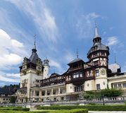 Peles Schloss Stockbild