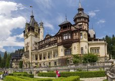 Peles Schloss Stockbilder
