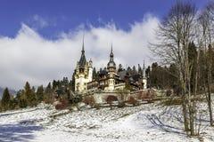 Peles-Schloss Lizenzfreie Stockfotografie