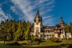 Peles-Schloss Lizenzfreie Stockbilder