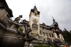 Peles Schloss Stockfotos
