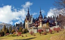 Peles Schloss Stockfotografie