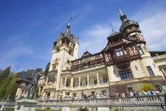 Peles Schloss in Rumänien Stockbild
