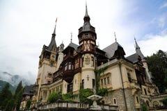 Peles Schloss, Rumänien Stockbilder