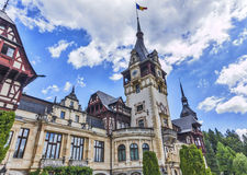 Peles Schloss in Sinaia Lizenzfreies Stockfoto