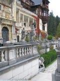 Peles Schloss, Sinaia, Rumänien Lizenzfreies Stockfoto