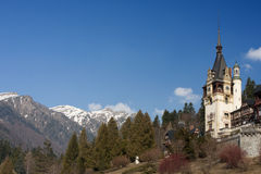 Peles Schloss Sinaia, Rumänien Stockfotos