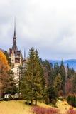 Peles Schloss, Sinaia, Rumänien Stockfotos