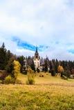 Peles Schloss, Sinaia, Rumänien Stockbild