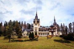 Peles Schloss, Sinaia, Rumänien Lizenzfreie Stockbilder