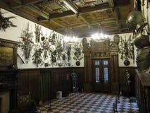 Peles slott Arkivfoto