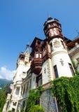 Peles slott (Rumänien) Fotografering för Bildbyråer