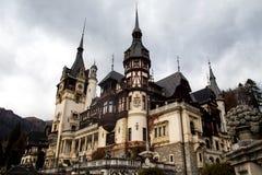 Peles slott, Sinaia Rumänien Arkivfoton